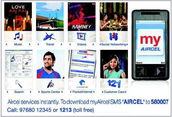AIRCEL LAUNCHES 'MY AIRCEL' GPRS APPLICATION