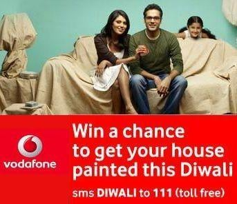 Vodafone Offers Get your House painted for FREE