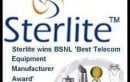 Sterlite Technologies wins BSNL's 'Best Telecom Equipment Manufacturer Award'