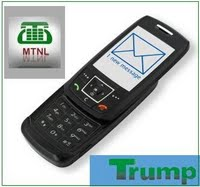 MTNL Increases Number Of Free Sms In Trump Sms Bonus Coupon