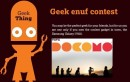 Tata DOCOMO Introduces Geek enuf contest on Social Networking