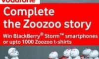 Vodafone Introduces 'Complete the Zoozoo Story' Contests