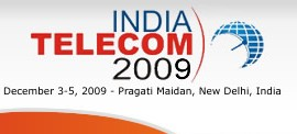 India Telecom 2009 kicks off from December 3