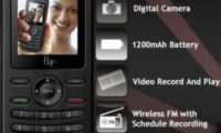 FLY Mobile V180 DS Dual GSM Phone Now In India