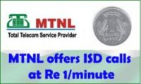 MTNL Launches ISD Call Offer on VCC, Call USA and Canada at Rs.1/Min