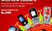 MTS Launches 8 Budget Colour Handsets
