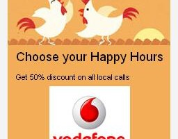 Vodafone Launches Happy Hours Discount Plans in Mumbai