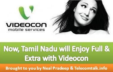 Videocon Launches More Full And Extra talktime Offers For TN
