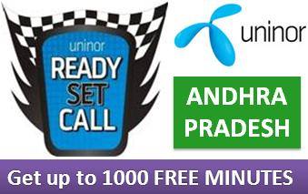 "Play ""Ready Set Call"" With Uninor And Win Upto 1000 Free Minutes"