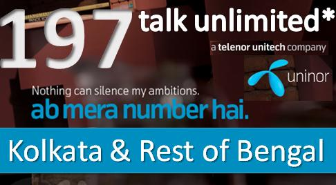 Uninor Makes West Bengal Talk Unlimited