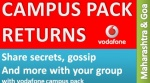 Now Talk More With New Vodafone Campus Pack In Maharashtra & Goa