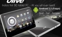 OlivePad VT100 Android Tablet Now Available With Froyo
