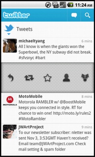 Twitter For Android Update Available