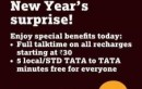 Tata Docomo Intros 'Full Talk Time' Offer for New Year Eve