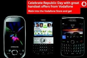 Vodafone Launches Nokia, Samsung & BlackBerry Handset Offer with Free Data Plans