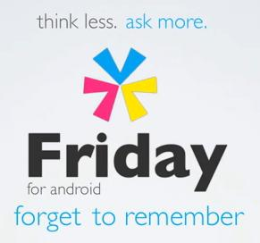 'Friday' World's First Life Search Mobile Application Goes Live in Google Play