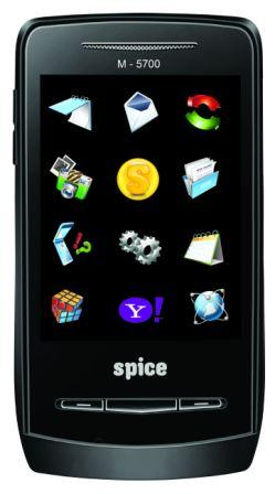 Spice Launches M5700 FLO Touch Screen Phone