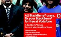 Vodafone Free BlackBerry Service Camp Now in Kerala