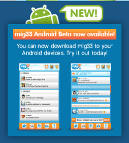 Mig33 Updates Its Android App