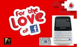 Vodafone Launches Facebook Phone 'Vodafone Blue 555' In India