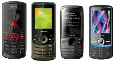 GFIVE Launches 4 New Entry Level Multimedia Phones