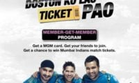 Loop Mobile Offers Chance To Win Mumbai Indians Match Tickets with MGM Program