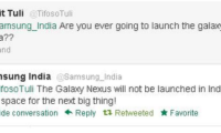 SAMSUNG: Galaxy Nexus Won't Be Coming To India Anymore