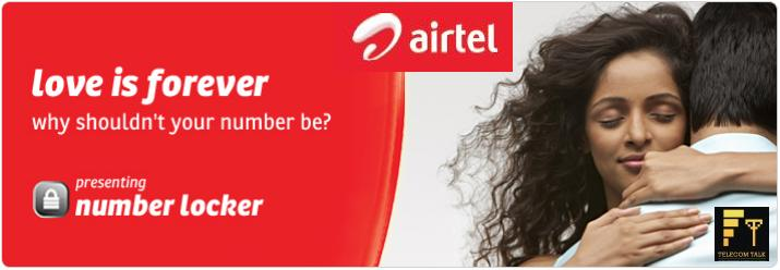Airtel Launches Prepaid Number Locker Services