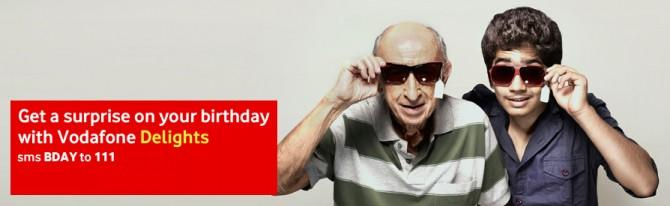 Vodafone India Birthday surprise