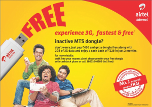 Airtel 3G Offer