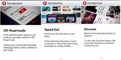 Android App Review: Opera browser beta (WebKit Inside)