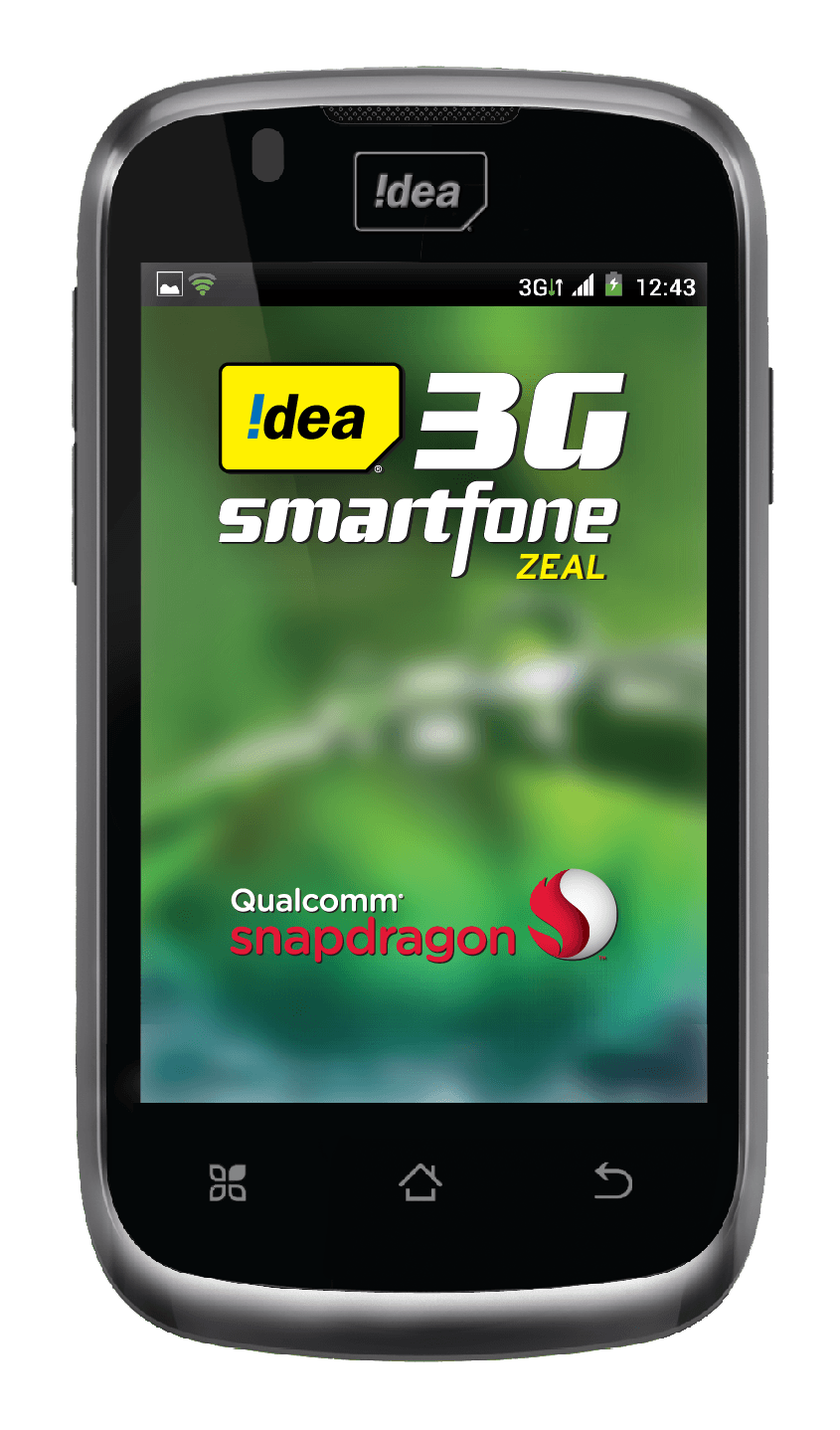 Idea Cellular Launches 3g Smartphone Zeal For Rs 5390