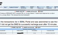 Online Recharge Woes with BSNL Portal