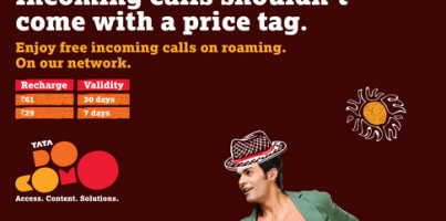 Tata Docomo increases 2G tariff in a bid to equalize the 2G and 3G tariffs