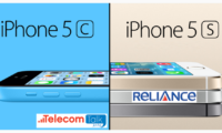 Reliance Launches iPhone 5C and iPhone 5S at Rs.2599 and Rs.2999 Per Month for 24 months With Unlimited FREE Local and STD Calls, SMS, National Roaming and 3G Data (No FUP)