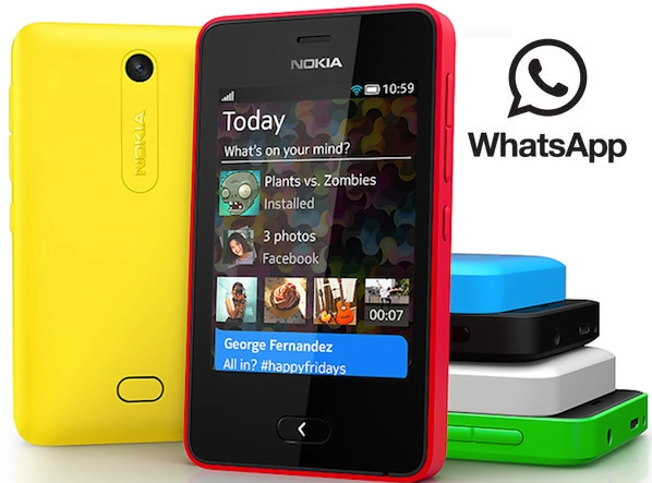 WhatsApp for Nokia Asha 501