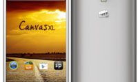Micromax Canvas XL launched in India for Rs 13,990