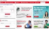Airtel Web Based self care services for Prepaid Customers Not reliable : Our Experience