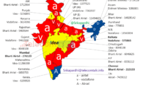 Circle wise Leading Operators in Rural Subscriber base as of May 2014 – PAN INDIA (MAP)