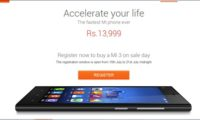 Xiaomi Mi3 launched in India for Rs 13,999