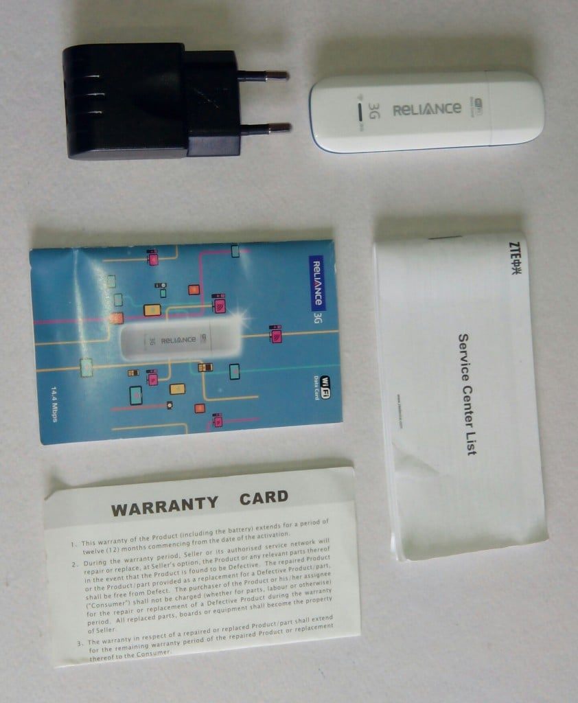 RCOM WiFi 3G Data card2