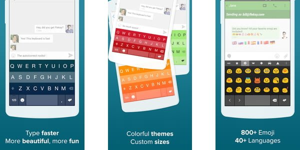 Fleksy Keyboard App For Android