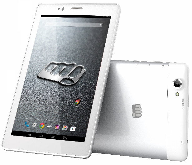 Micromax Canvas Tab P470 Front Silver