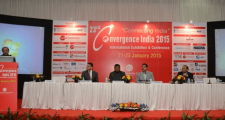 "23rd edition of the Convergence India Expo 2015, with the theme ""Connecting India"" begins today"