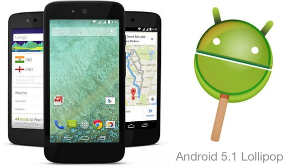 Android 5.1 Lollipop Update For Android One Smartphones