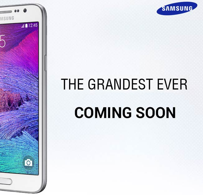 Samsung Galaxy Grand 3 Teaser