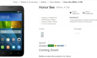 Huawei Honor Bee and Huawei AP007 Power bank get listed on Flipkart