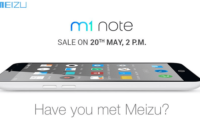 Meizu M1 Note to go on sale May 20 at 2pm through Amazon