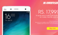 Xiaomi Mi 4 64GB gets its price dropped to Rs 17,999 permanently