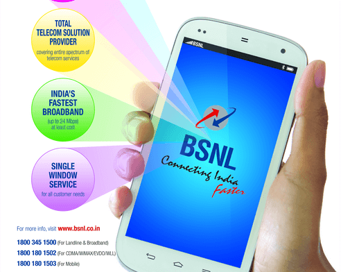 BSNL introduces 4GB mobile broadband per day for Rs 444